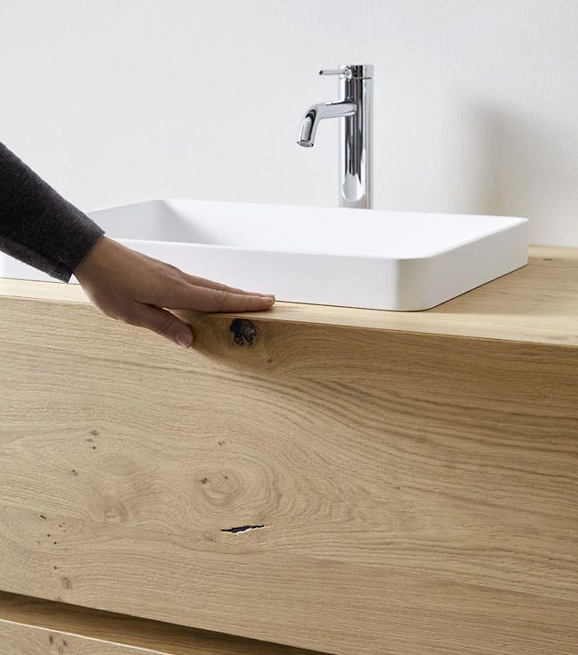 baños Dica kube roble rustico