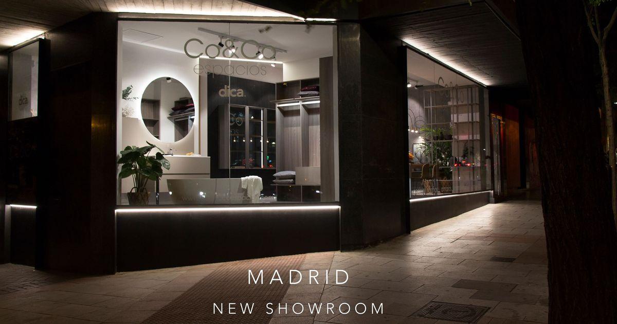 Co&Co Espacios Showroom Dica en el Centro de Madrid dica madrid