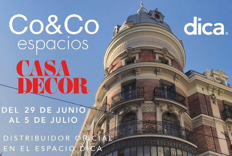 Co&Co Espacios estará en Casa Decor del 29 de Junio al 5 de Julio