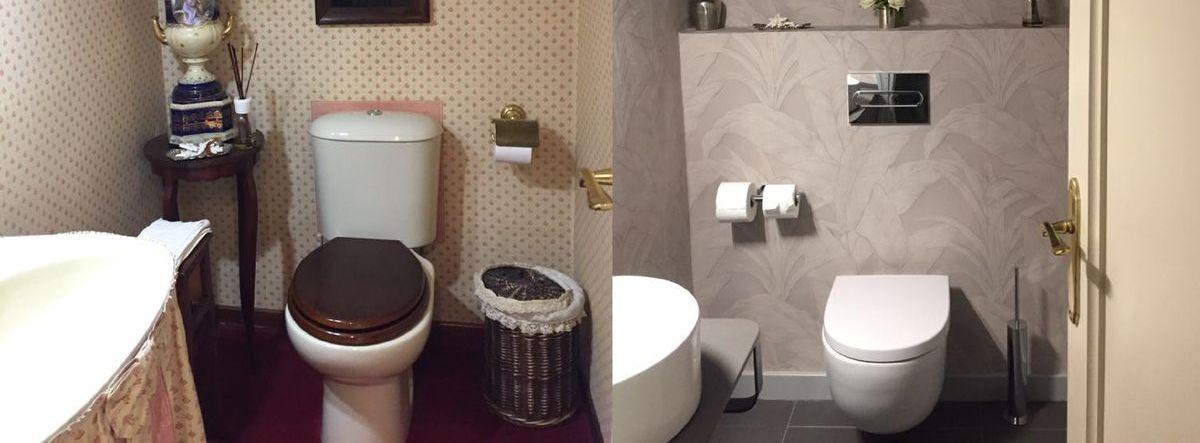 Home Staging: el antes y el después de un baño de Pinar del Golf