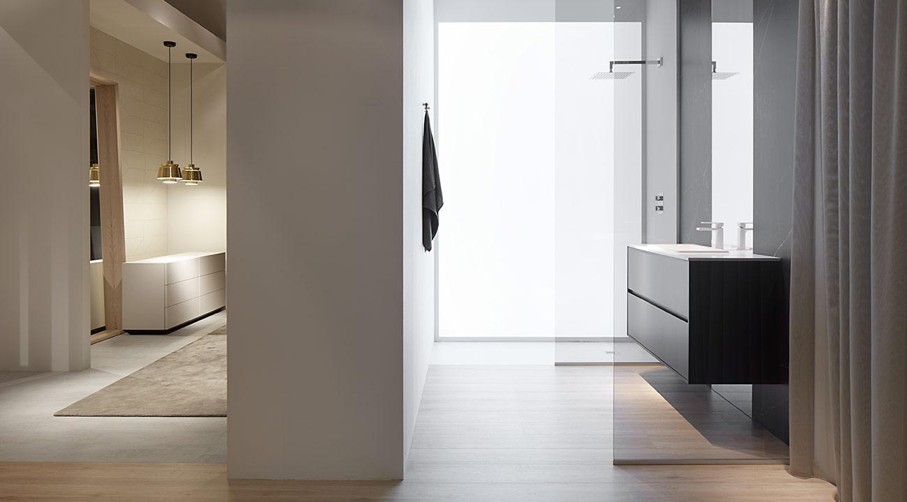 casa home dormitorio dica gris calido puerta vitrina Dica