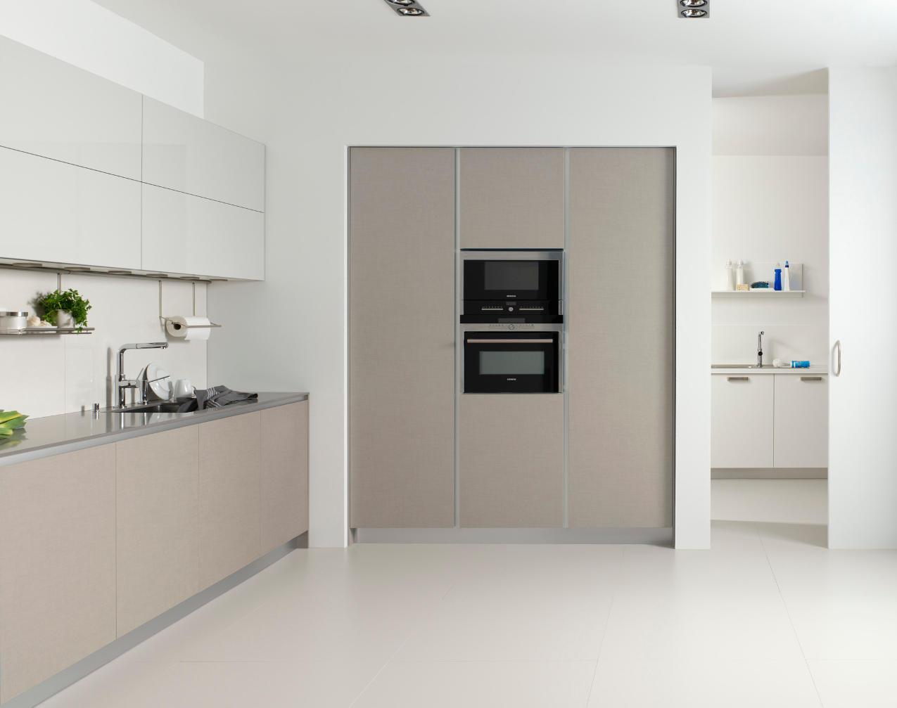 Cocina Dica Serie45 Lino Natural - Horno