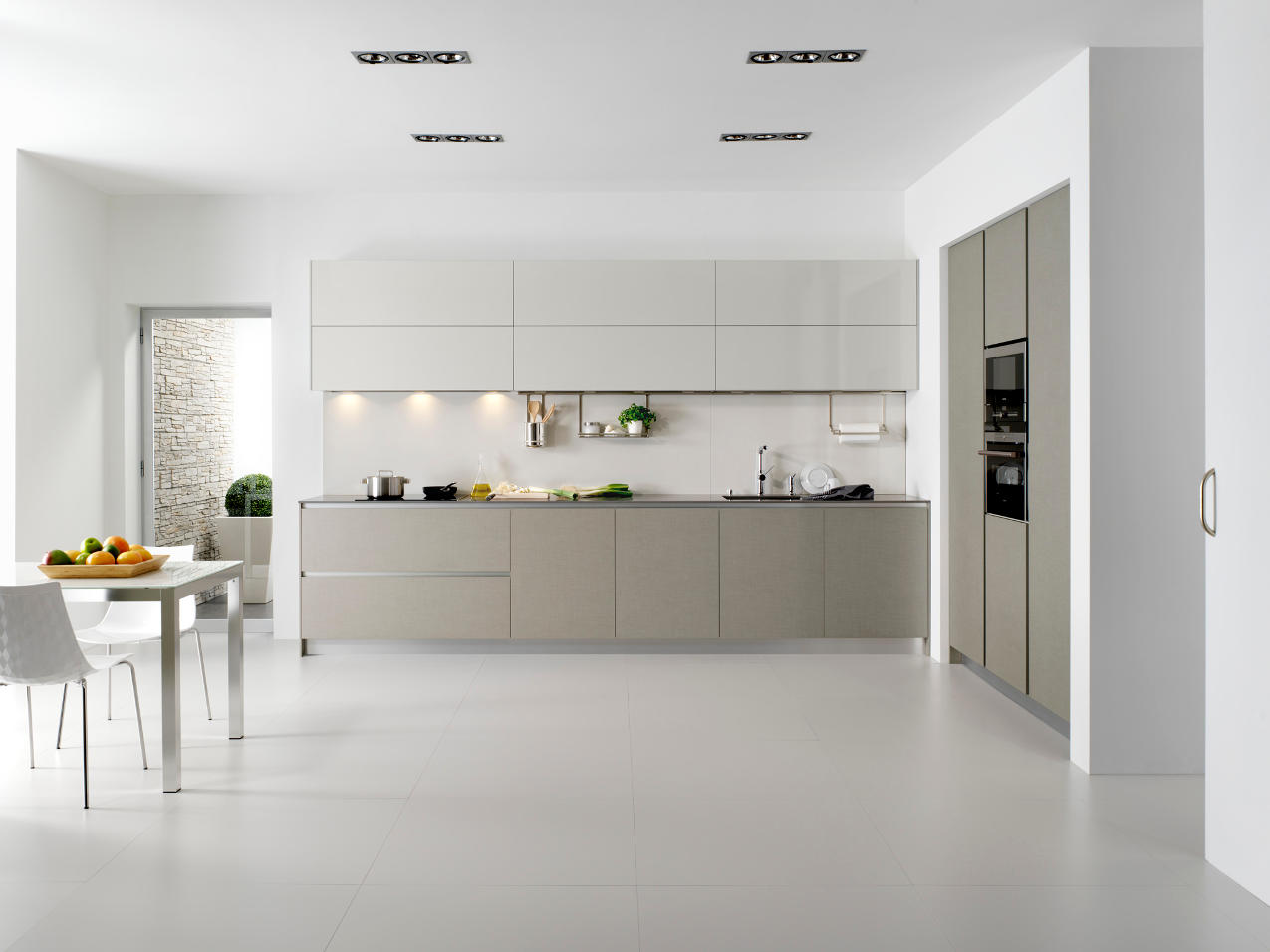 Cocina Dica Serie45 Lino Natural - Vista General