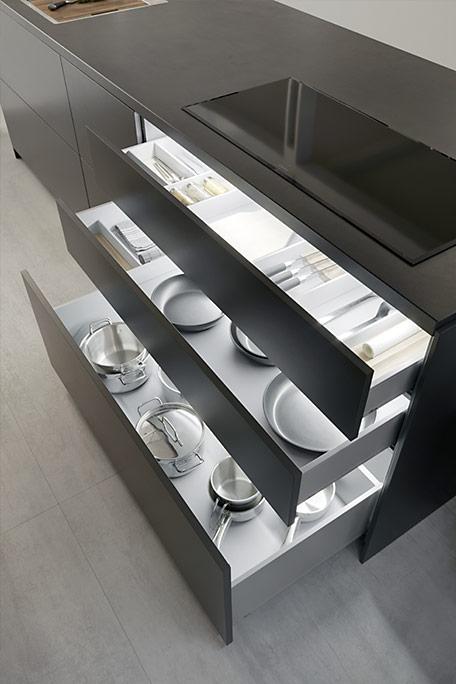 Cocina Dica Serie 90 Interior Cajones