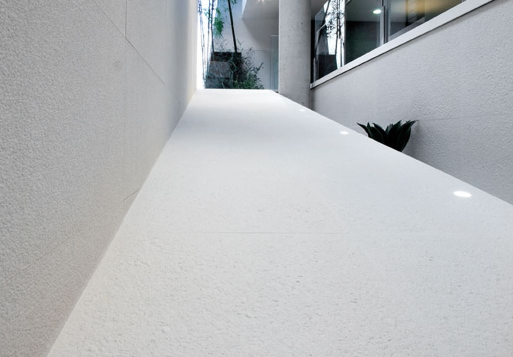 Pavimentos Inalco, Serie Concrete - Blanco Plus