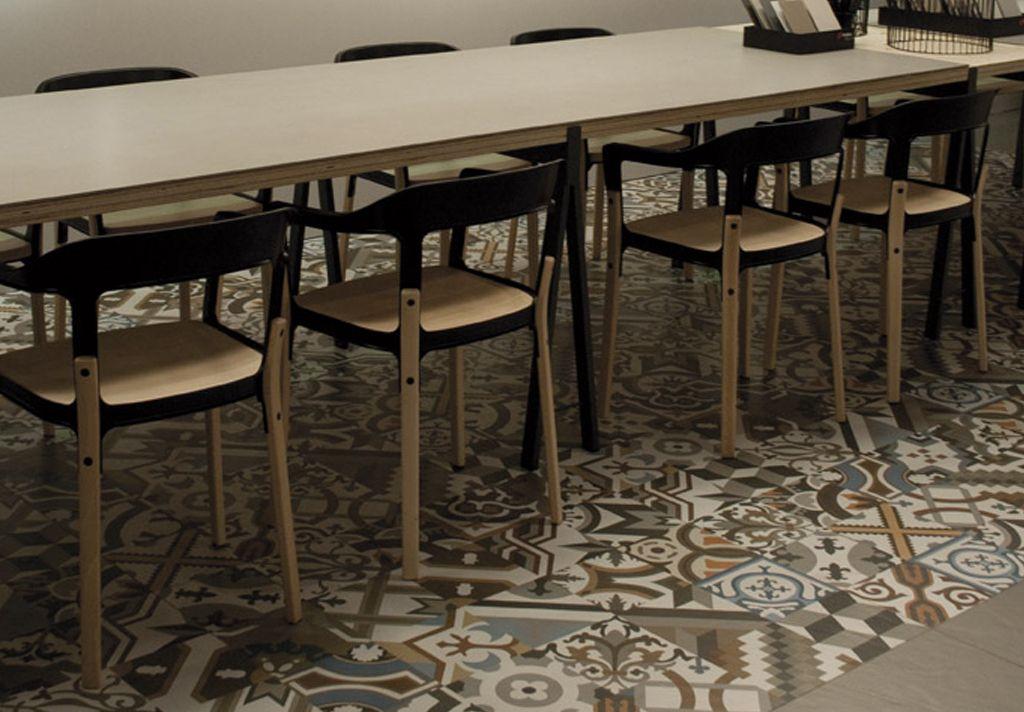 Pavimentos Inalco, Serie Handcraft - Deco Gris