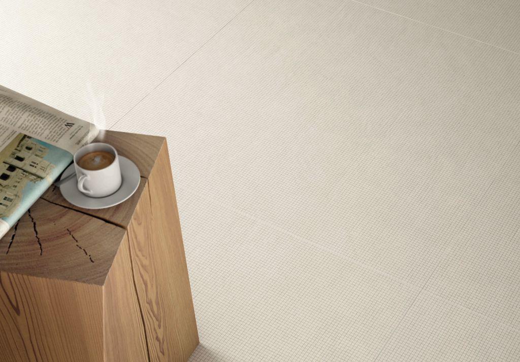 Pavimentos Inalco, Serie Micro - Blanco Plus