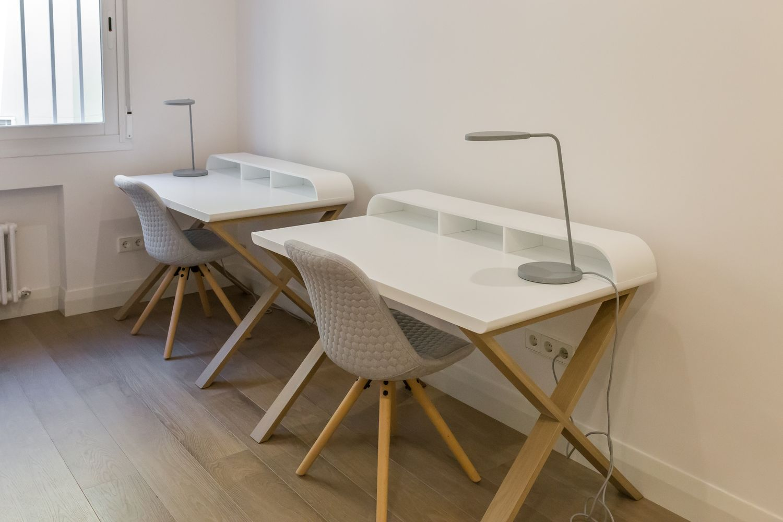 Reforma integral con muebles Dica en la calle Serrano de Madrid co and co espacios