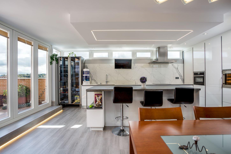 Reforma de una cocina Dica en Arroyo de la Vega La Moraleja de Madrid