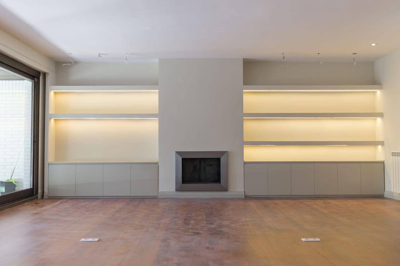 Reforma Integral Casa Soto de la Moraleja - Mural del salón