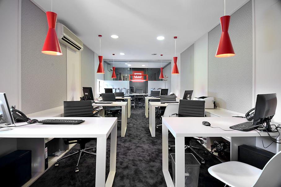 Reforma integral oficina moraleja co co espacios for Espacios de oficina