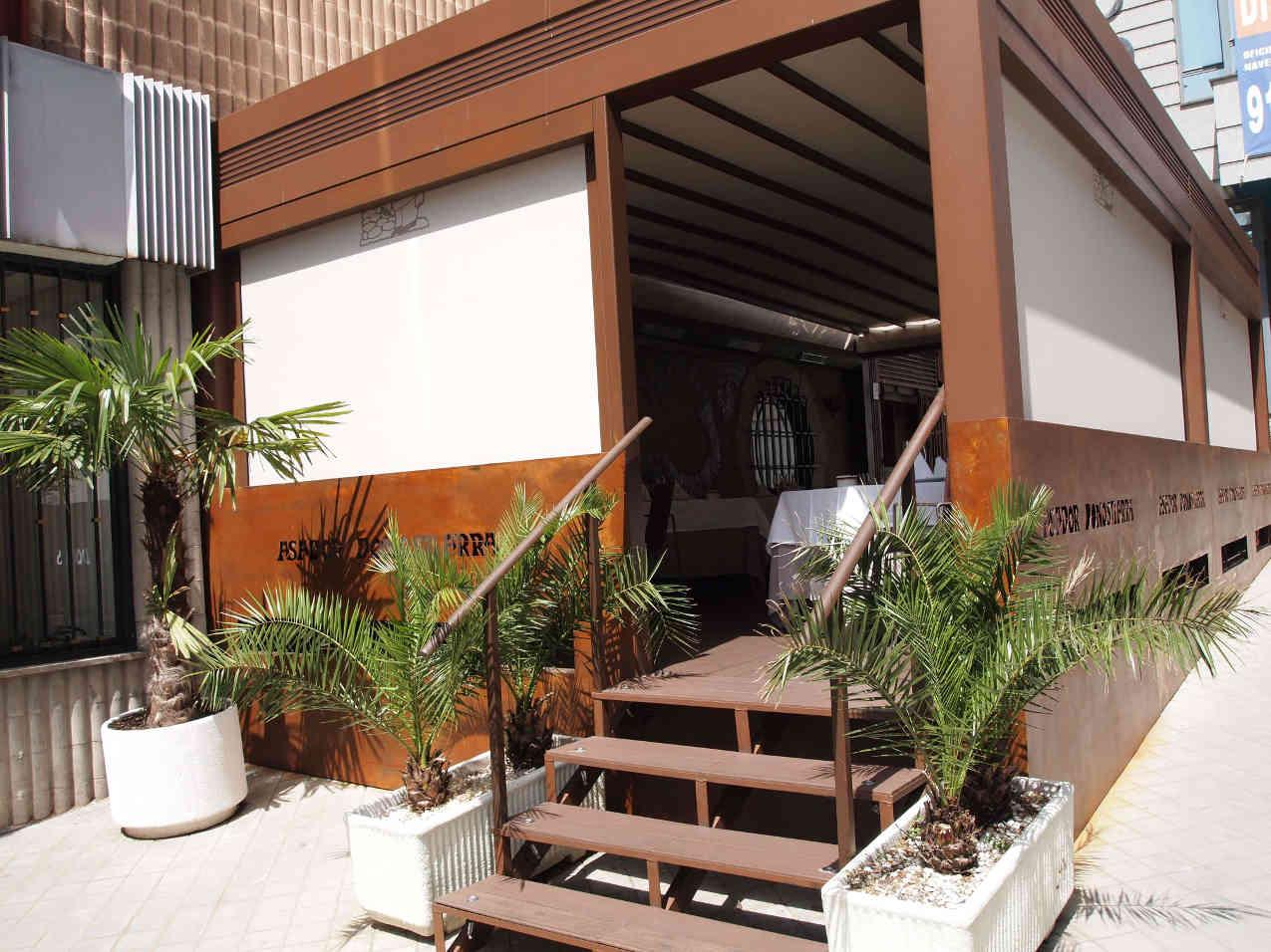 Reforma terraza restaurante co co espacios - Reformas vega ...